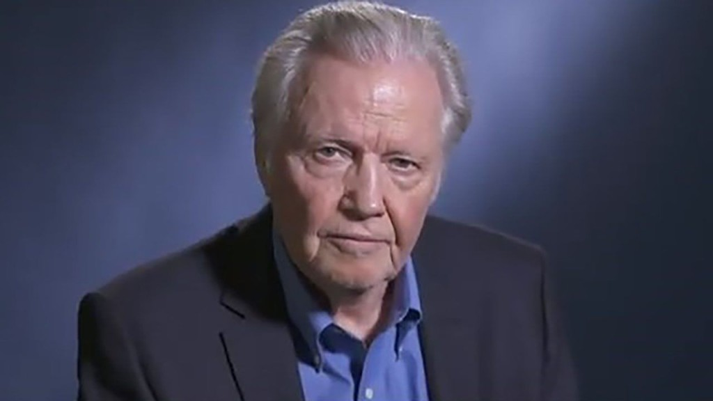 Jon Voight says Trump is the 'only man who can save this nation' in anti-left video message