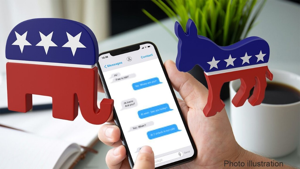 Billions of political texts sent in 2020 election's final push