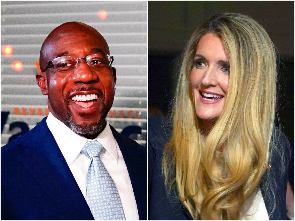 Georgia Senate candidates Warnock, Loeffler tussle over calls to eliminate cash bail