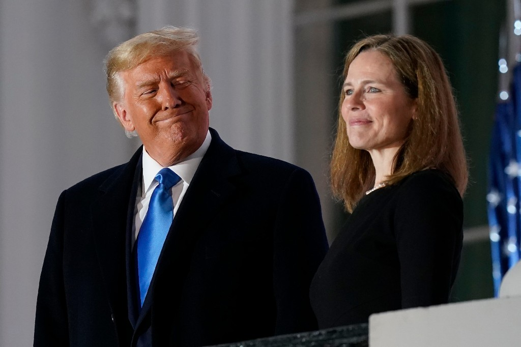 Amy Coney Barrett Becomes Next Supreme Court Justice
