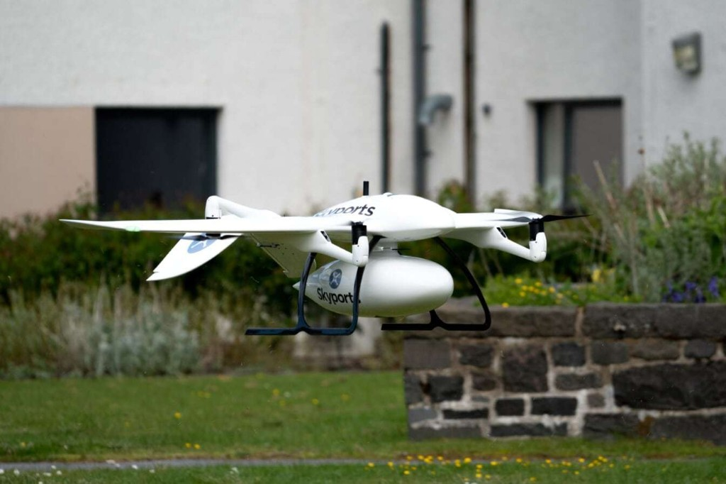Amid coronavirus battle, drones will deliver test kits and protective gear to island medical personnel