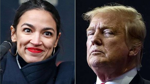 AOC reminds Trump in tweet about tax return request: 'We didn't ask you'