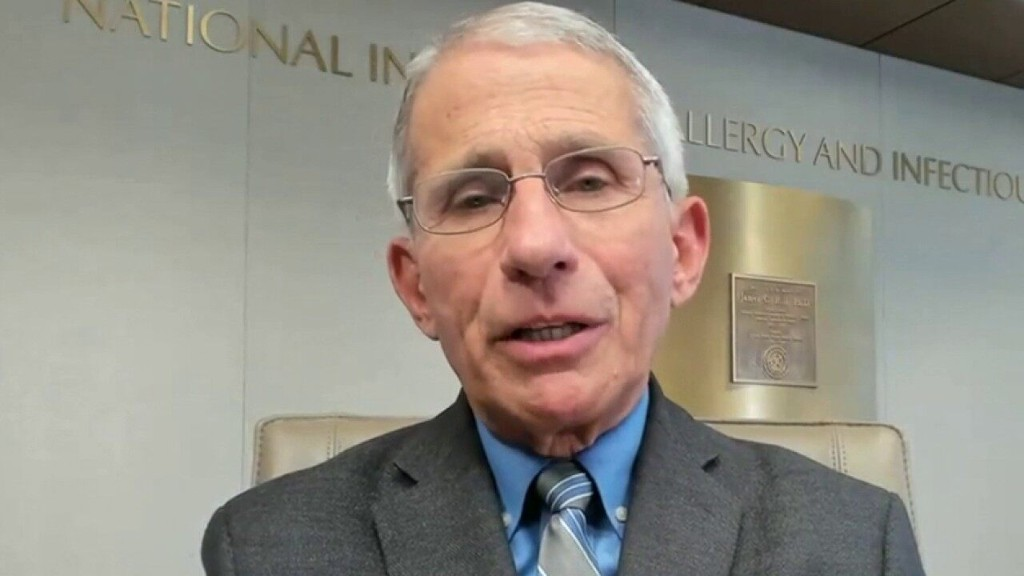 Dr. Fauci: 'We're starting to see glimmers of hope' but distancing strategies must be 'intensified'