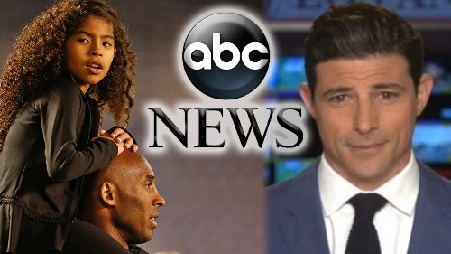 ABC News suspends correspondent Matt Gutman for falsely suggesting all of Kobe Bryant's children on helicopter
