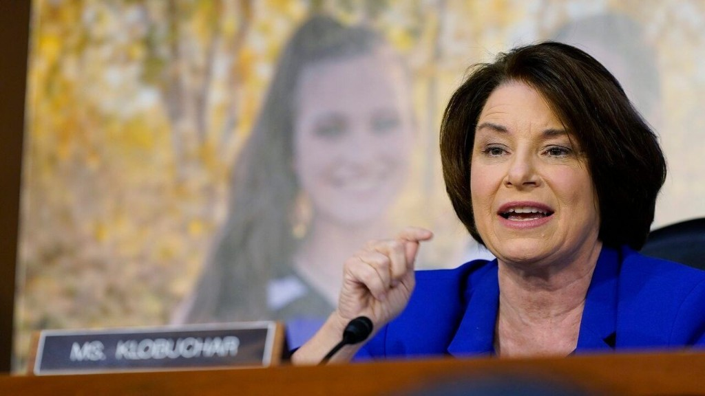 Klobuchar tells Barrett: 'I think this hearing is a sham'