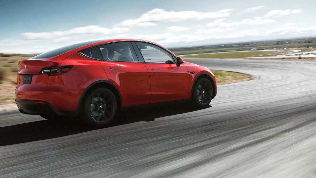 Tesla Model Y owners can make their cars quicker with $2,000 download