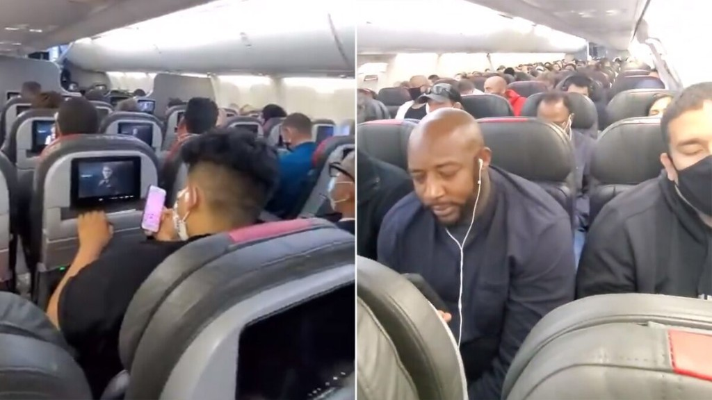 American Airlines passenger complains of 'overcrowded' flight