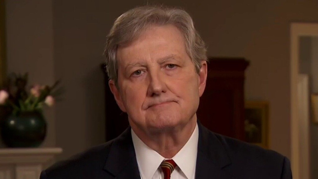 Sen. Kennedy's advice to Americans: If Joe Biden wins, 'build a fallout shelter'
