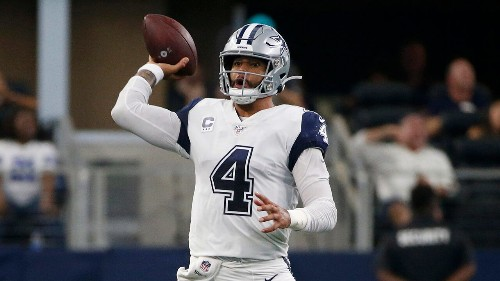 Dallas Cowboys' Dak Prescott abruptly remembers during game: 'Spicy nuggets are back'