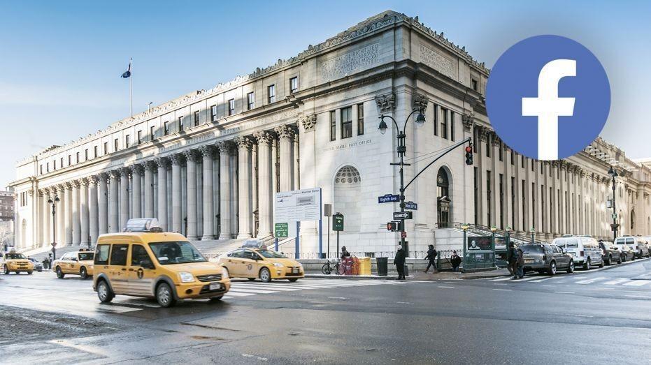 Facebook leases workspace at landmark New York building