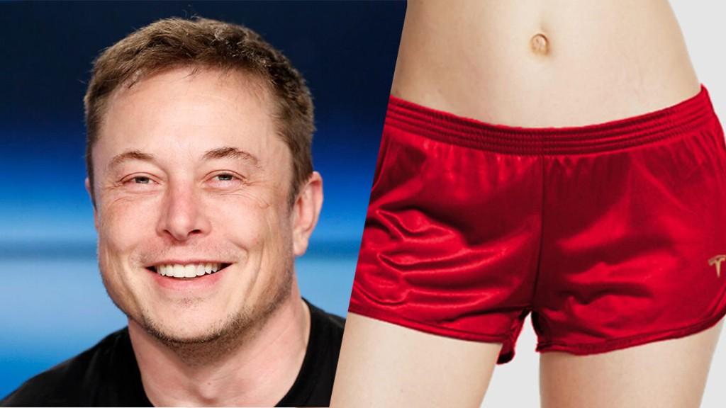 Tesla taunts short-sellers by selling 'short shorts'