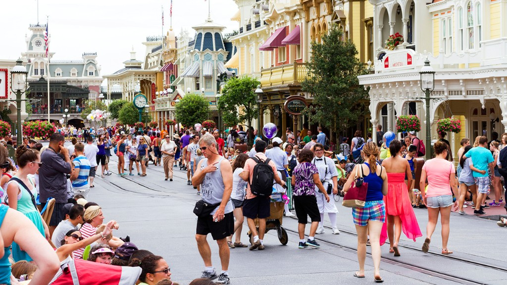 Disney World guest banned from park after allegedly ditching loaded gun behind planter, blaming it on her son