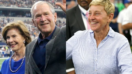 George W. Bush says Ellen DeGeneres' comments on respect 'appreciated'