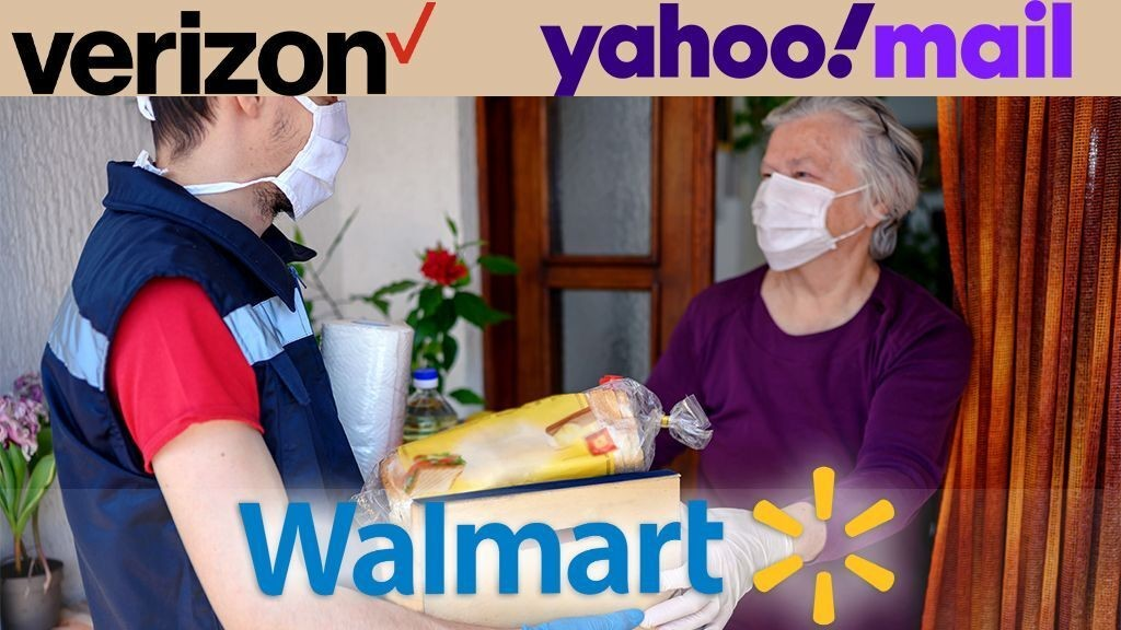 Verizon, Walmart partner for exclusive Yahoo Mail grocery shopping venture