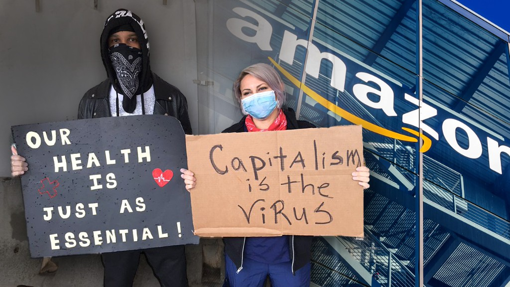 Ex-Amazon worker organizing protest outside Jeff Bezos' NYC penthouse