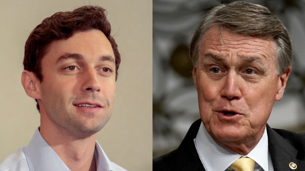Perdue, Ossoff head to Georgia Senate runoff after competitive campaign
