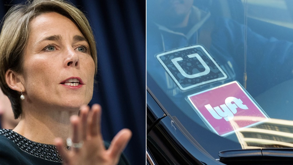 Massachusetts sues Uber, Lyft over misclassification of drivers
