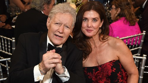 Alex Trebek's wife on how faith helps the couple cope with his cancer diagnosis