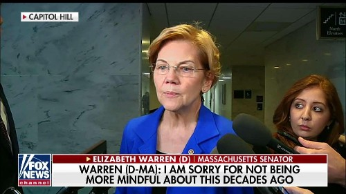 Warren apologizes for Native American claim, signals there may be other documents out there