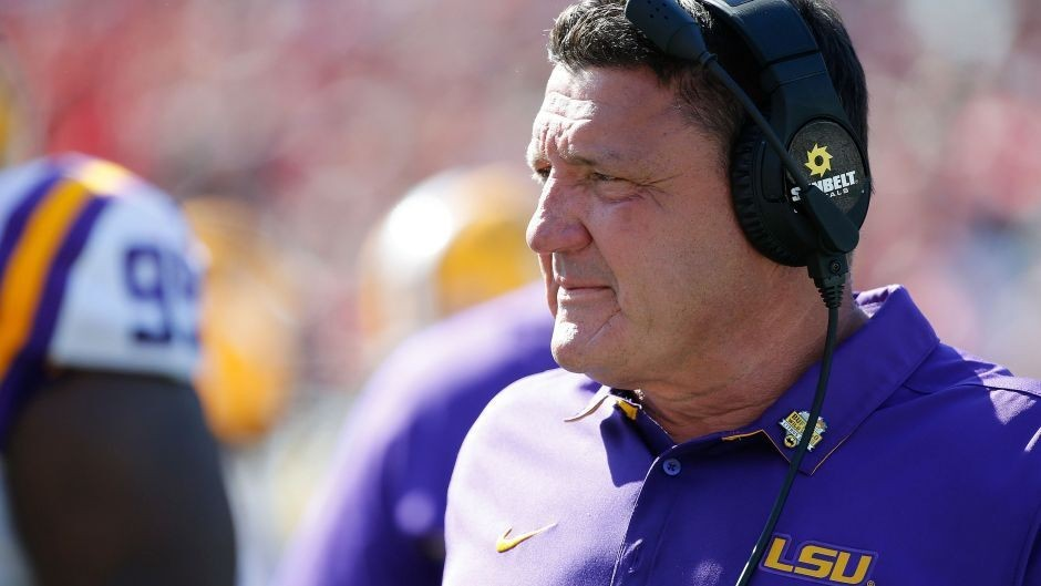 Ed Orgeron says 'most' of LSU players have contracted the coronavirus