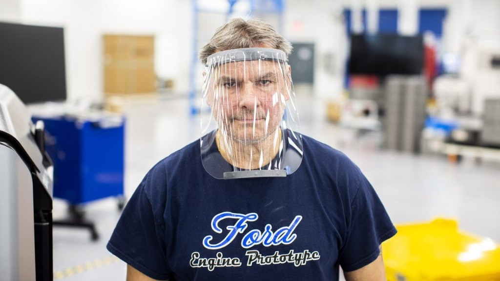 Ford ships out 1 millionth coronavirus face shield