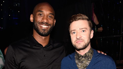 Kobe Bryant receives emotional tribute from friend Justin Timberlake: 'Your legacy is with us'