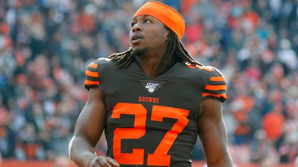 Browns' Hunt 'blessed' for another chance after traffic stop