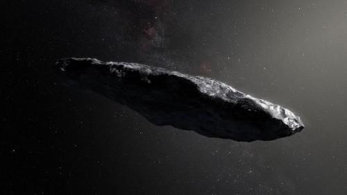 Mysterious interstellar object is spinning out of control