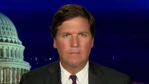 Tucker Carlson: Media Matters' president is an enthusiastic bigot - and MSNBC's Chris Hayes ignored it