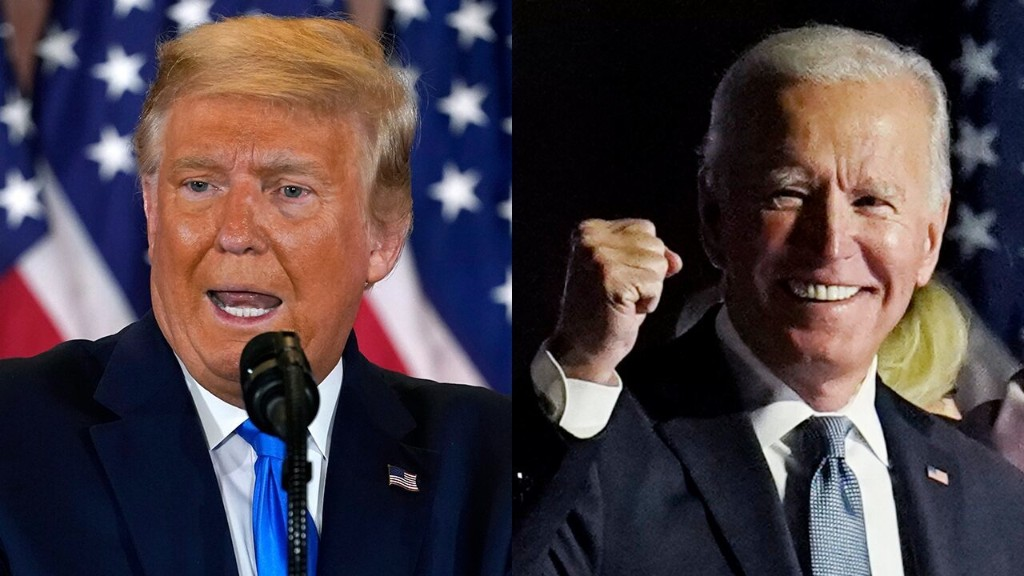 Biden, Trump campaigns dig in for legal fight with key battlegrounds undeclared