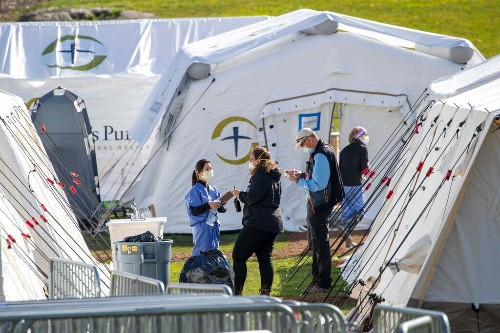 Samaritan's Purse Central Park field hospital takes in first patient in coronavirus fight