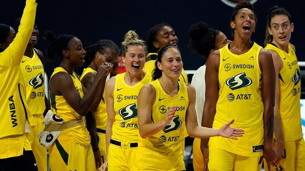 WNBA's Seattle Storm endorses Biden-Harris ticket in rare move for a sports team