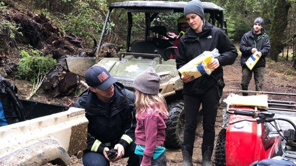 California sisters, 8 and 5, survived 44-hour ordeal by drinking fresh water from Huckleberry leaves