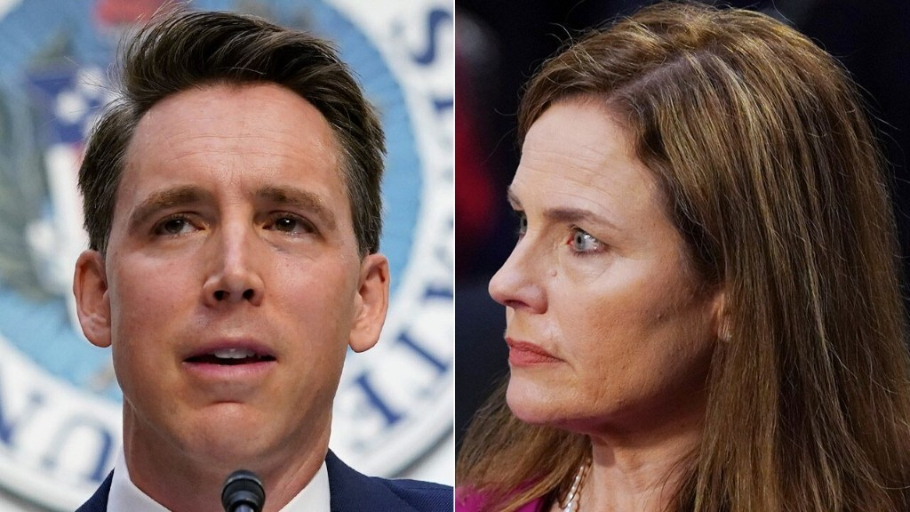 Criticism of ACB's faith is 'attempt to bring back to days of the religious test': Hawley