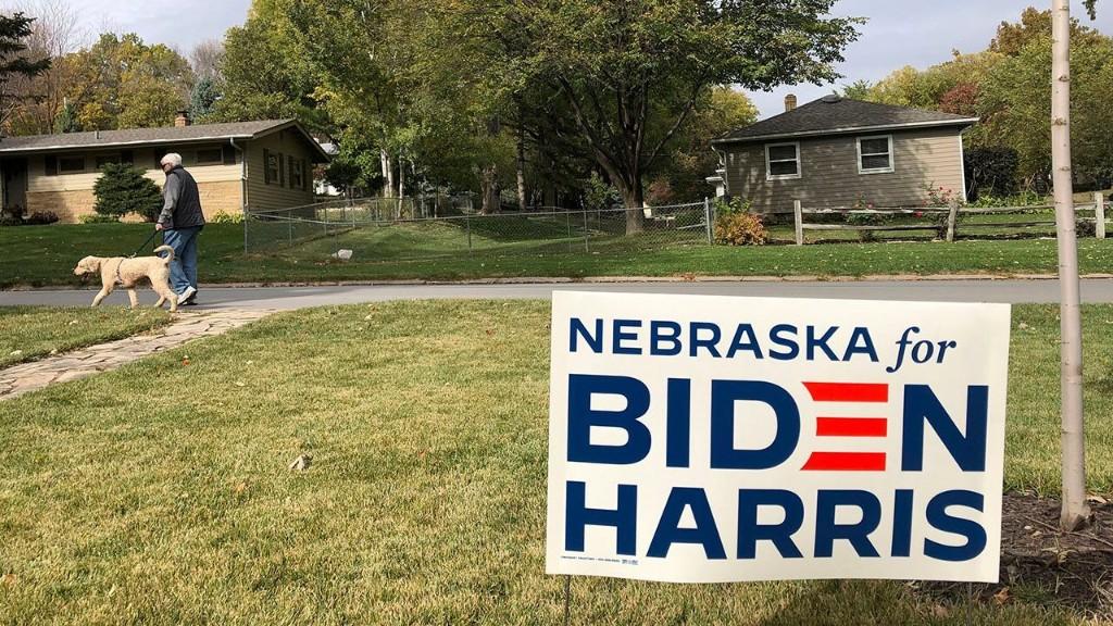 Biden's 1 electoral vote from Nebraska district could prove pivotal