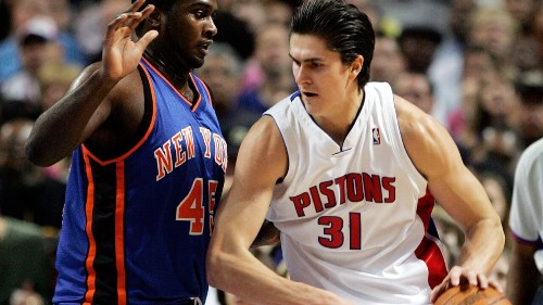 NBA bust Darko Milicic responds to Carmelo Anthony's comment on live stream: 'We are not kids, we are adults'