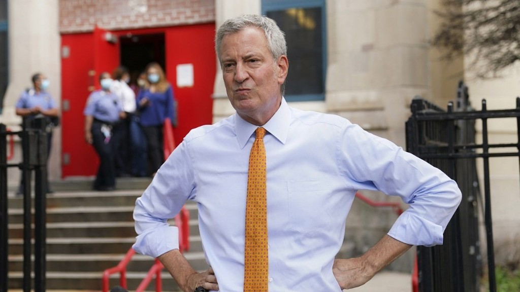 NYC mayor's office, including mayor, to be furloughed for a week in budget crisis
