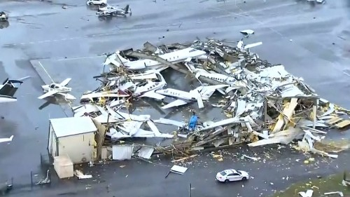 Nashville tornado damage includes destroyed airport, collapsed homes as death toll climbs