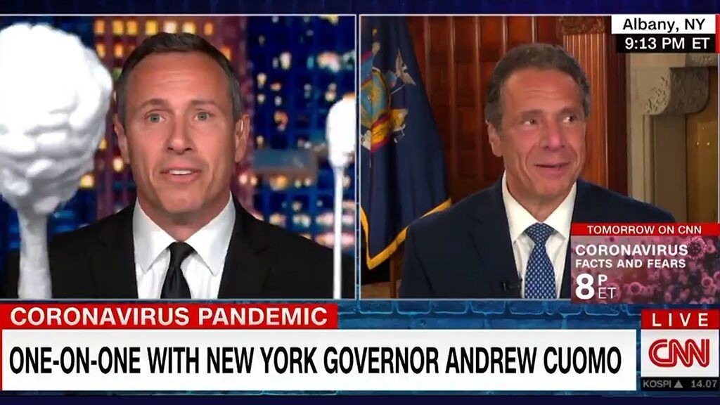 Cuomo brothers' jokey CNN interview ignoring nursing home controversy sparks outrage