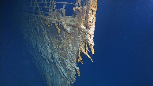 New Titanic images show the wreck's 'shocking' deterioration