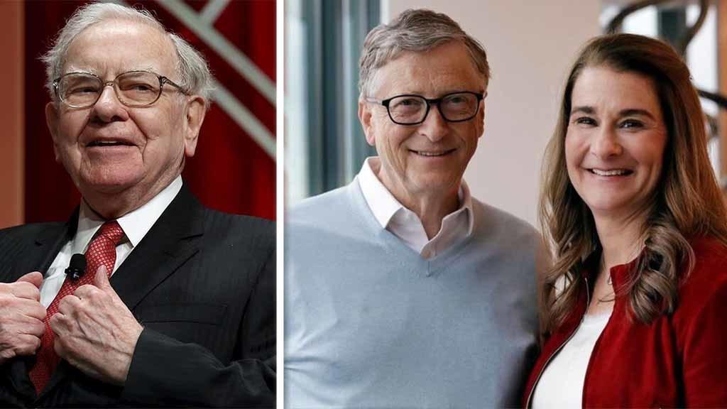 Warren Buffett donates $2.9B in Berkshire shares to Bill and Melinda Gates Foundation, others