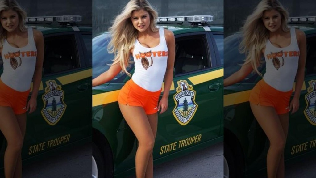 Hooters girl Hannah Williams dishes on posing in swimsuit, hanging out with cast of 'Super Troopers 2'