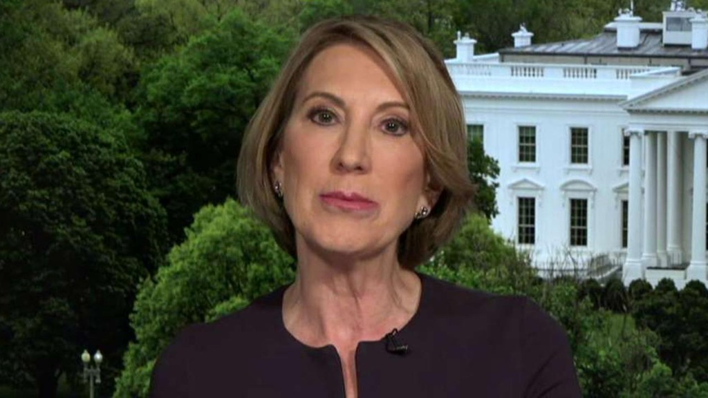 Carly Fiorina: Monday's Dow drop reflects 'dawning reality ... that this is a very serious situation'