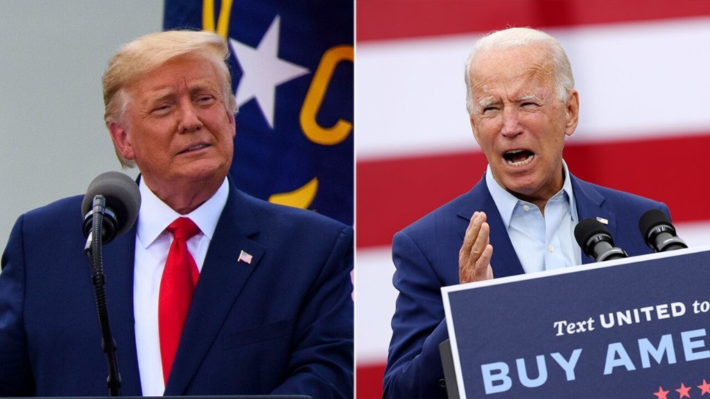Biden hits back at Trump's call for pre-debate drug tests