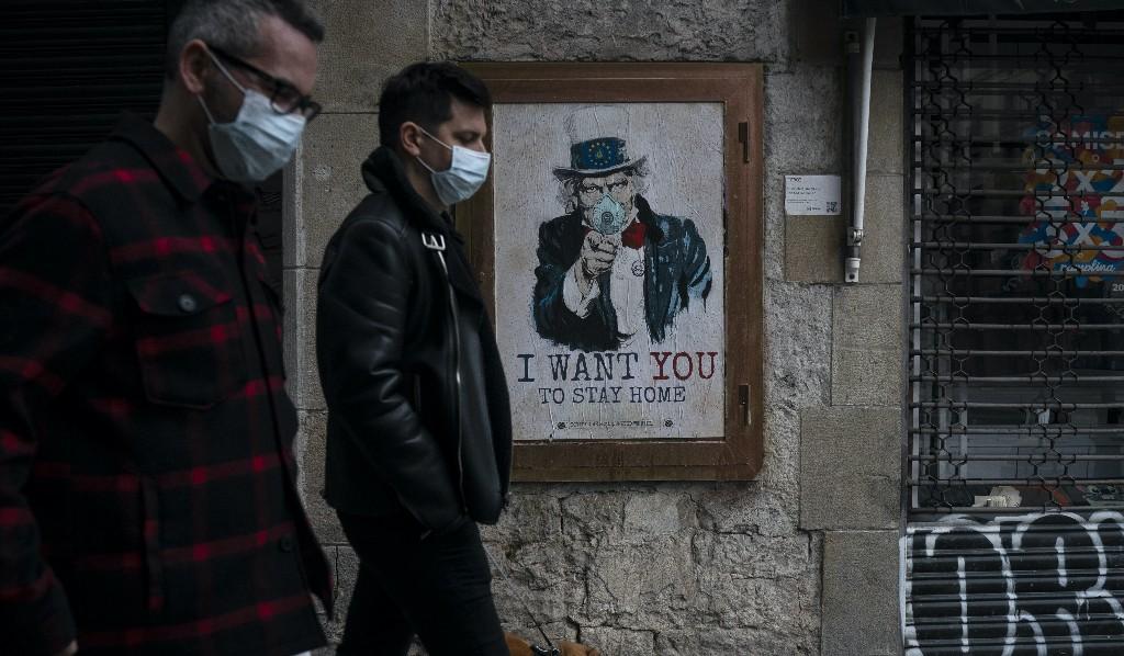 Spain's coronavirus death toll surges past China
