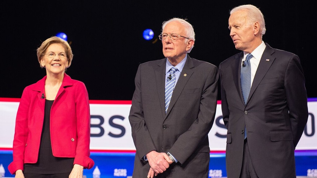 Biden hints Sanders, Warren won't join his Cabinet despite push from progressives