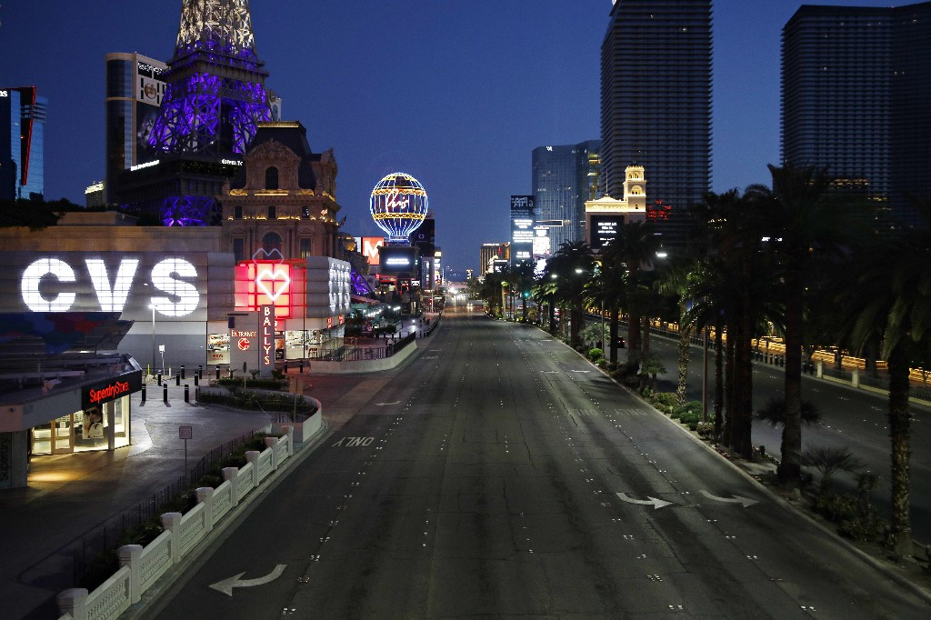 Las Vegas to reopen casinos -- with restrictions