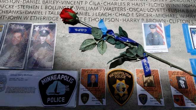 Report: Gun deaths of officers jump 56 percent