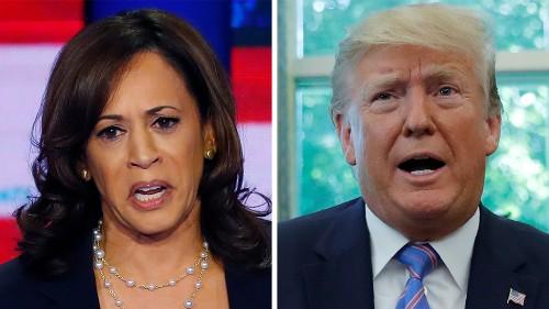 Kamala Harris on Trump: 'We have a predator living in the White House'