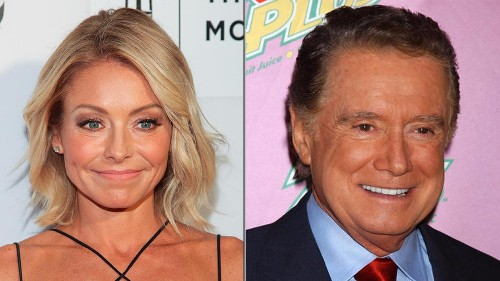 Kelly Ripa: Regis Philbin had a strict 'no talking off-camera' rule on 'Live'